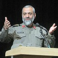 Commander of the Iran's Basij force, a subordinate of Iran's Revolutionary Guard Corps (IRGC), Mohammad-Reza Naghdi